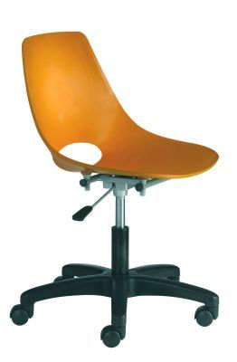 Sonor Swivel Poly Chair In Orange Ply