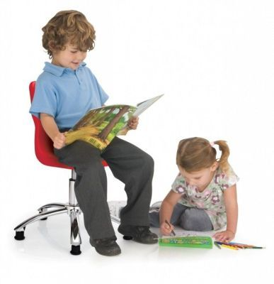 Titan Poly Swivel Chair With Children Readingor