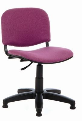 TT4 Tamperproof Computer Chair In Purple From A Front Angle