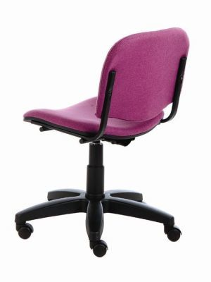 TT4 Tamperproof Computer Chair In Purple From A Rear Angle