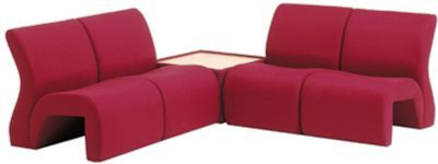 Vavoo Modular Seating In Burgundy