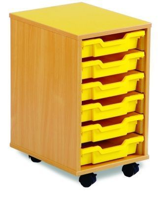 Coloured-Edged-6-Shallow-Tray-Storage -compressor