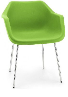 Robin Day Poly Tub Chair Lime Green