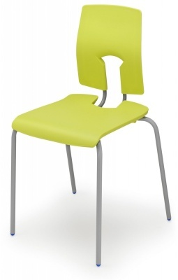 Sesame Poluy Chairs In Leaf Green