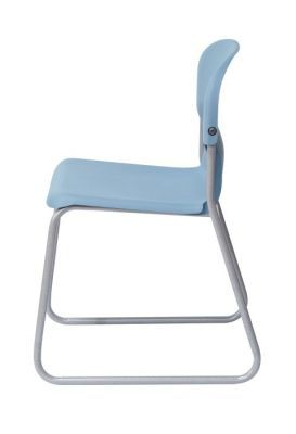 Chair 2000 Classroom Chair With A Skid Frame Side View