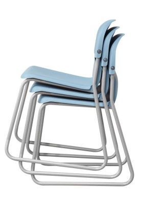 Chair 2000 Skid Frame Stacked