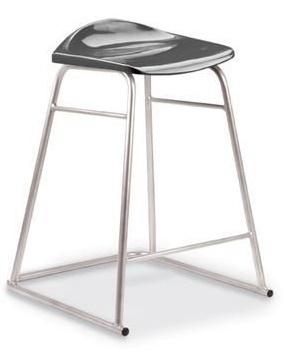 Titan High Stool Charcoal Seat