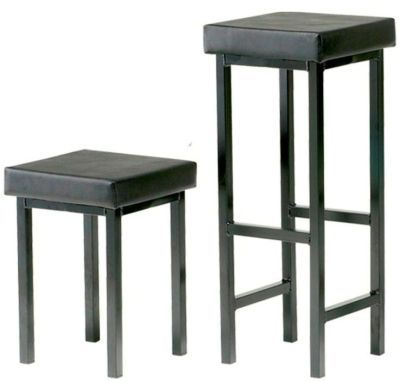 Upholstered Square Stools
