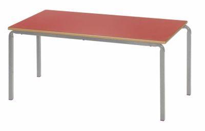 Ms Rectangular Crush Bent Classroom Table