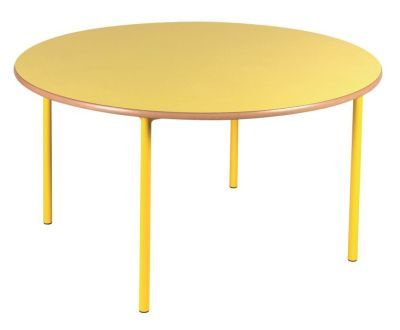 Standard Circular Nursery Tables In Yellow