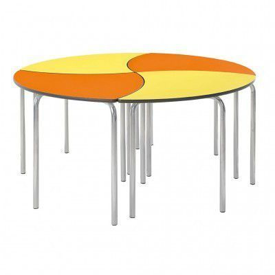 Leaf Modular Table Circular Arrangement