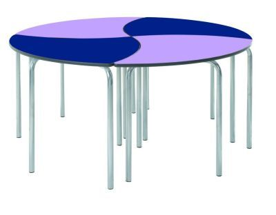 Leaf Modular Table Circular Arrangement 2