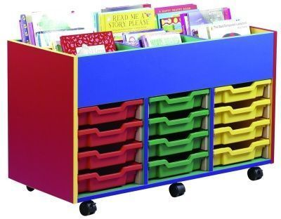 Colour My World 6 Bay 12 Tray Kinderbox With Books
