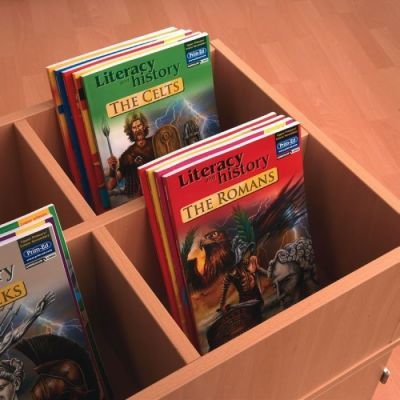 Beech Busybase Mobile Book Storage And Books