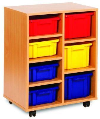 Budget Classroom Tray Storage 4 Shallow And 3 Deep