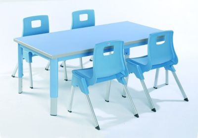 Start Right Height Adjustable Classroom Table And Chairs