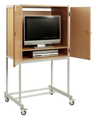 Mobile-Lockable-TV-and-Media-Cabinet-compressor