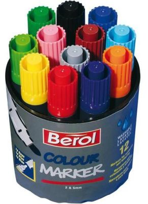 Berol Colour Marker Compressed