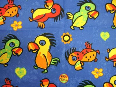 Jungle Parrot Pattern