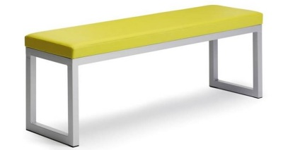 Transter Benches With Vinyl Upholstery
