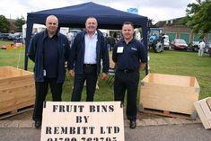 Versatile fruit bins at Fruit Focus