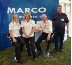 Marco exhibits at Fruit Focus