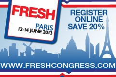 FRESH2013 Paris 12-14 June