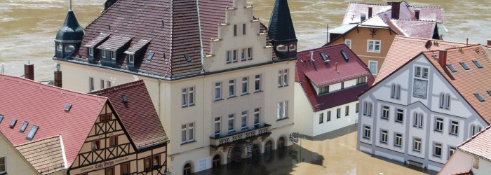 Widespread flooding hits European crops