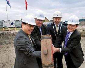 China's CSV builds veg centre in Holland