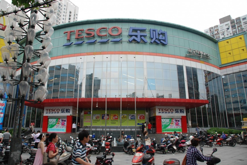 Tesco signs deal to enter India's supermarket sector
