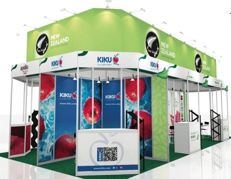 Exhibition Booth Rental Hong Kong : Kiku new zealand to exhibit in hong kong
