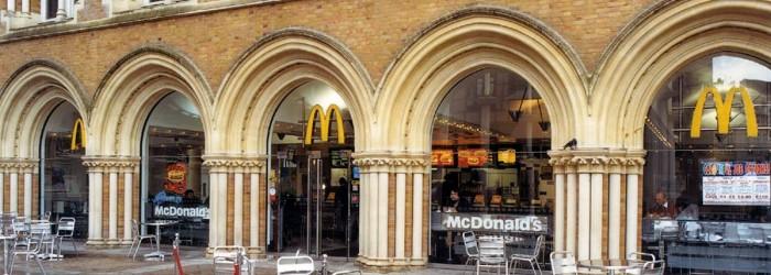 Celebs and public tour McDonald's supplier