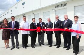 New logistics hub opens in Miami