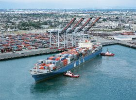 Records broken at Port of LA