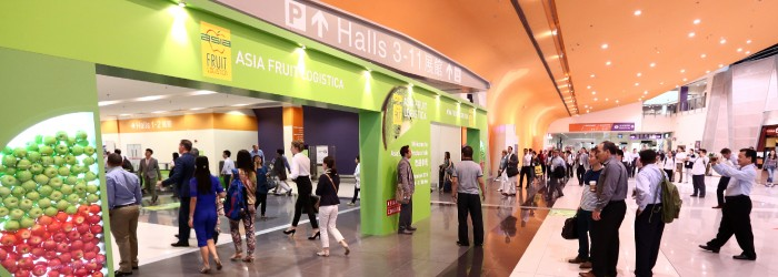 Bookings surge for Asia Fruit Logistica