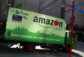 Amazon invests in new trucks