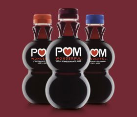US Pom Wonderful bottles
