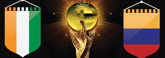 Fresh World Cup: Colombia v Côte d'Ivoire