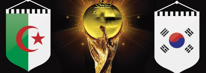 Fresh World Cup: Algeria v South Korea