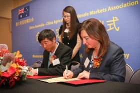 Citrus Australia signs MoU with China