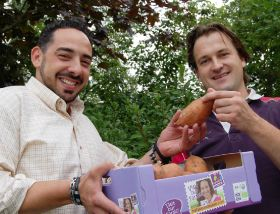Eosta celebrates sweet potato landmark