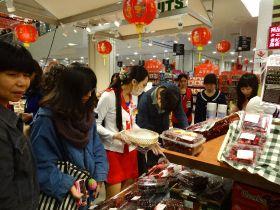 Fresher cherries for China