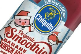 Christmas smoothie added to Chiquita range