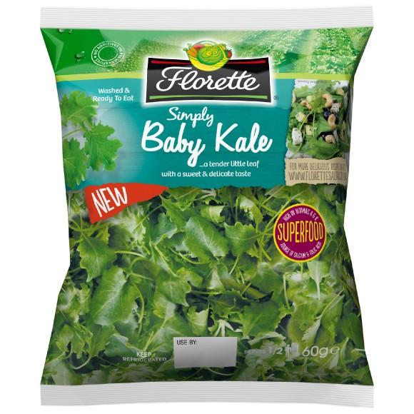 Florette Unleashes 600k Baby Kale Marketing Campaign