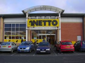 Netto opens doors of first UK store