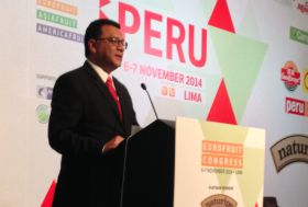 Peru minister promises government support