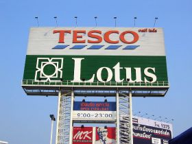 Tesco Lotus profits down