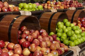 Indonesia's imported apple sales drop