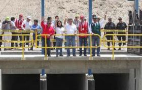 Major irrigation project opens in Peru