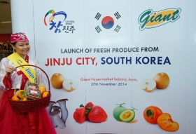 Korean produce gets festive in Malaysia